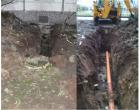 Выполнение работ по ремонту системы водоотведения  по адресу: ул. Малая Бухарестская д.9
